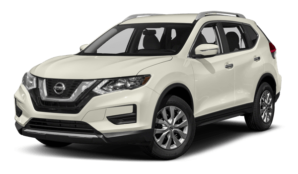 White 2018 Nissan Rogue