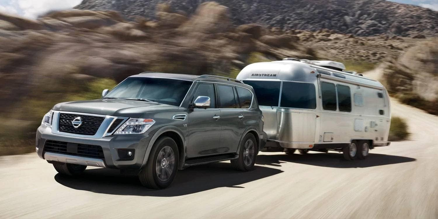 2019 Nissan Armada Towing