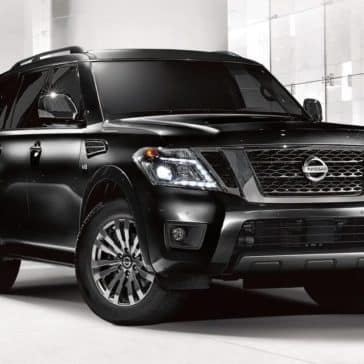 2019 Nissan Armada Parked