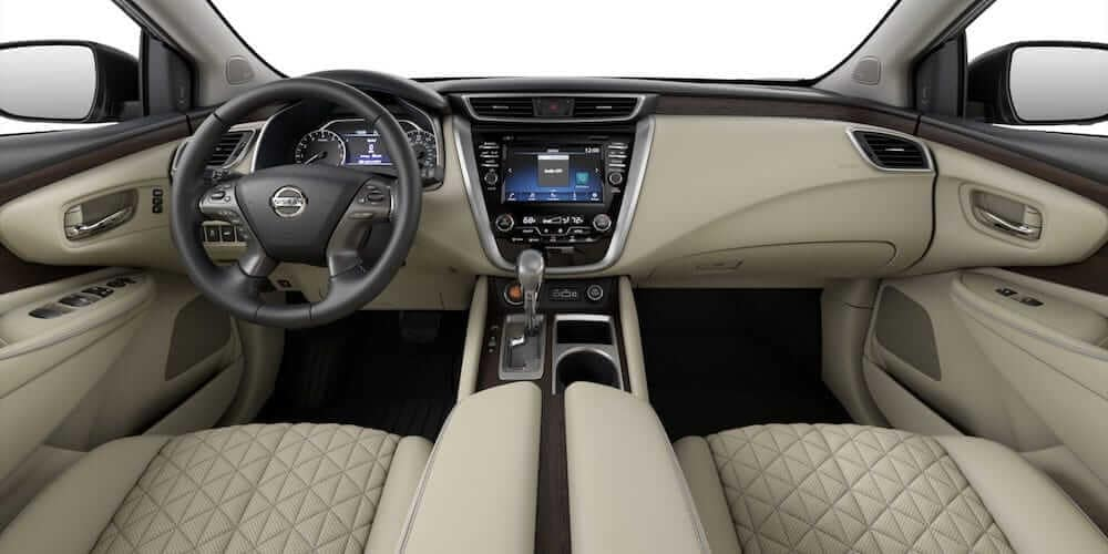 2019 Nissan Murano interior dashboard