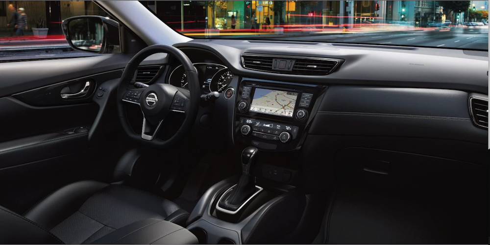 2019 Nissan Rogue interior dashboard