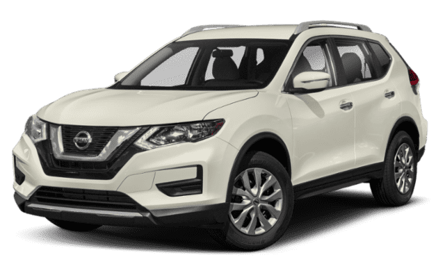 White Nissan Rogue
