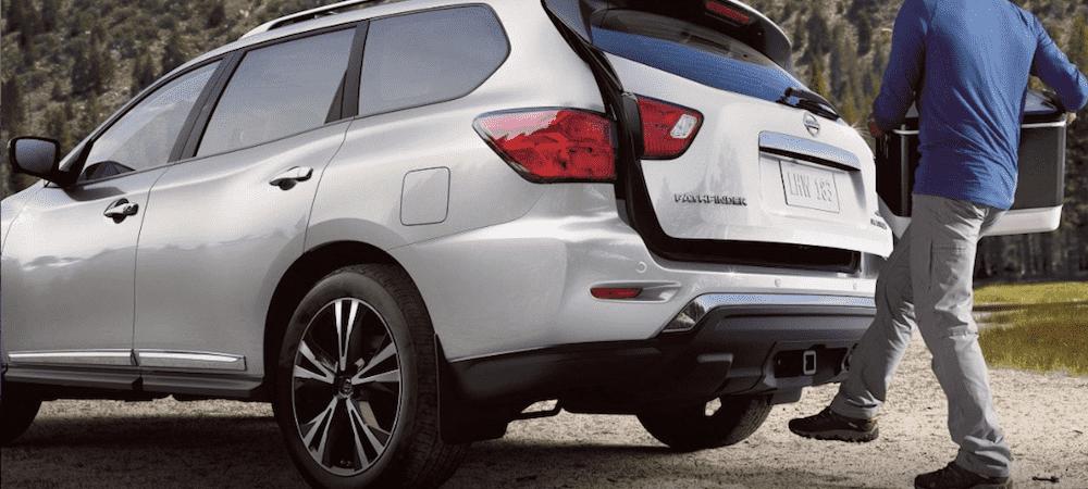 Silver 2019 Nissan Pathfinder