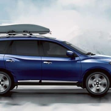 2020 Nissan Pathfinder Driving