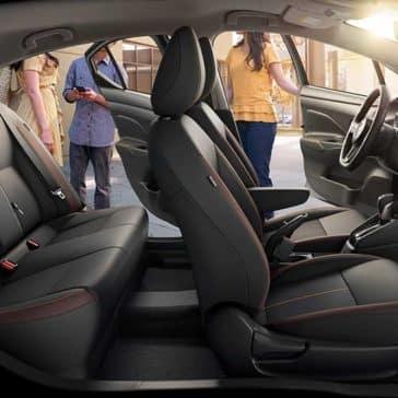 2020 Nissan Versa Seating