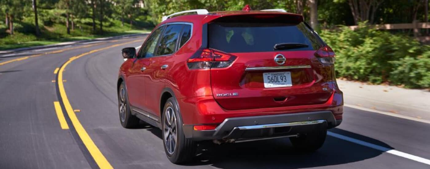 Red 2020 Nissan Rogue