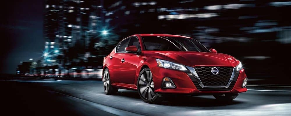 2020 Nissan Altima on Road