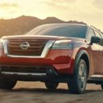 Red 2022 Nissan Pathfinder